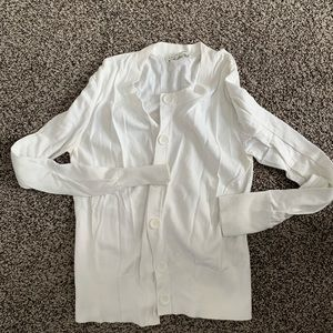 Banana Republic white sweater